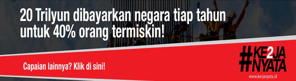 20 Triliyun Dibayarkan Negara Tiap Tahun untuk 40% Orang Miskin! , Jakarta - OKtober 2016