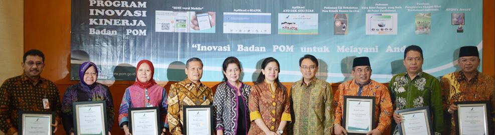 """Inovasi Badan POM Pilar Reformasi Birokrasi untuk Melayani Anda"" HUT Badan POM ke-14 - Jakarta, 31 Januari 2015"