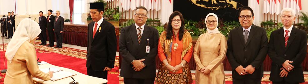 Pelantikan Kepala Badan POM Tahun 2016, Jakarta - Juli 2016