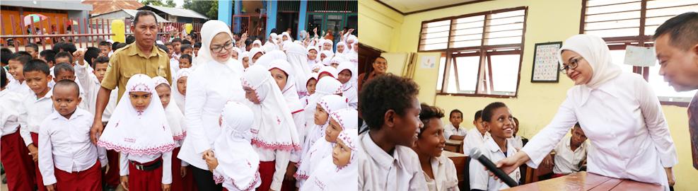 Edukasi dan Sosialisasi Obat dan Makanan di SD YPPK St. Theresia Buti dan SD Yapis, Merauke - 11 Oktober 2016