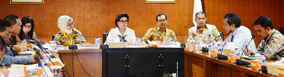 Audiensi Badan POM dengan KPK Perkuat Pengawasan OM, di Gedung KPK, Jakarta - 5 September 2016