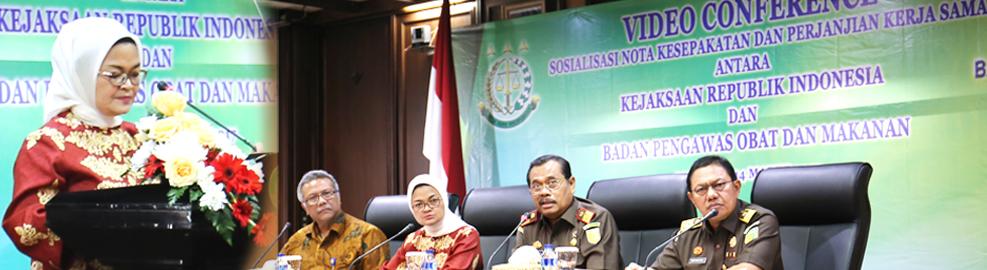 Sosialisasi Perjanjian Kerjasama Badan POM - Kejaksaan Agung, Jakarta - Maret 2017